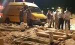 دفن الطفل النعيمات في مقبرة الهاشمية بمساعدة رجال الدفاع المدني