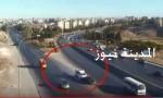 بالفيديو : تغير المسرب يتسبب بحادث خطير بعمان