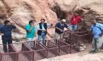 إغلاق مطل الخزنة في البترا للحد من المخاطر في الموقع الأثري