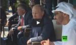 بالفيديو : الملك وبوتين وولي عهد أبو ظبي يحضرون عرضاً جوياً في روسيا