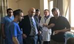 وزير الصحة يتفقد مستشفى البشير