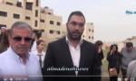 بالفيديو..  النائب قيس زيادين ينفذ وقفة تضامنية  أمام السفارة المصرية بعد تفجير الكنيستين ( لقاء )