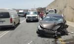 اربد : 6 إصابات في حادث تصادم