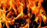اخماد حريق هنجر في عمان