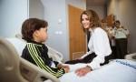 الملكة رانيا تزور مدينة الحسين الطبية