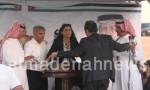 بالفيديو : شاهدوا كيف سحب المايك من أمام هند الفايز في اجتماع بني صخر