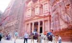 الفرجات :حركة سياحية اعتيادية في البترا
