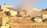 بالفيديو :بدء هدم مبنى مداهمة السلط