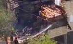 إصابة 25 بينهم 13 طفلاً جراء سقوط طائرة إسرائيلية بدون طيار على بلدة عربية (فيديو)
