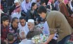 صلاة وخطبة وأجواء العيد في جرش ( صور )