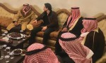 فيديو : الامير حسين في بيت عزاء الشيخ النجادات