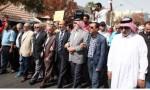 مسيرة تطالب بإنهاء اتفاقية الباقورة والغمر