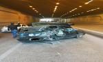 حادث سير يتسبب بإغلاق شارع المدينة المنورة