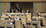 جانب من جلسة الأحد النيابية التي أقر خلالها مشروع قانون صندوق الاستثمار (صور)