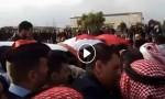 بالفيديو : تشييع جثمان الشهيد الرواحنة