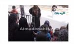 بالفيديو : حريق في عمارة  يسكنها سوريون في صافوط