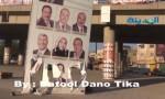 هكذا مزق مجهولون صور مرشحين في مدينة السلط (فيديو)