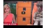 شاهد : مذيعة قناة أميركية تذرف الدموع على الطفل السوري عمران