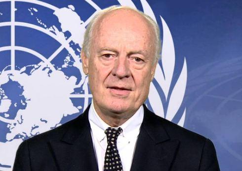 ميستورا: محادثات السلام السورية في مرحلة حرجة جدا