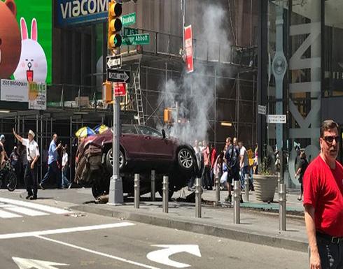 مقتل شخص وإصابة 13 بحادث دهس في ساحة تايمز سكوير وسط نيويورك (فيديو)