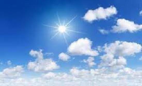 الجمعة :  الحرارة اعلى من معدلاتها لمثل هذا الوقت من العام