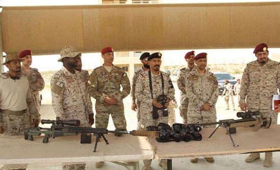 اختتام فعاليات التمرين عبد الله في السعودية