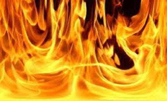 إصابة طفلين بحريق في جرش
