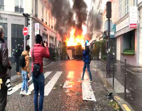 شرطة باريس تدعو أصحاب المحال التجارية لغلق محالهم السبت المقبل