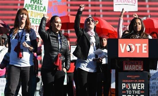 تظاهرات ضد ترامب في أوروبا ولاس فيغاس في ذكرى مرور عام على حكمه