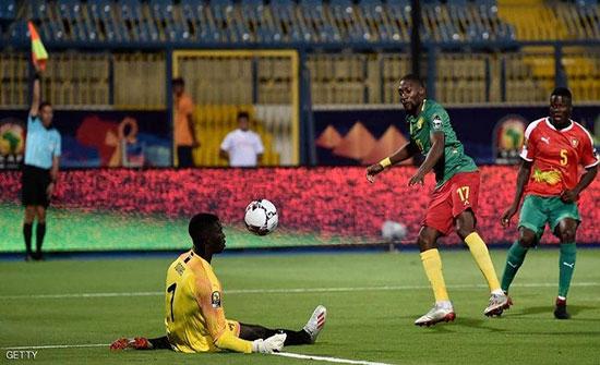 أمم أفريقيا.. المنتخب الكاميروني يهزم غينيا بيساو بثنائية