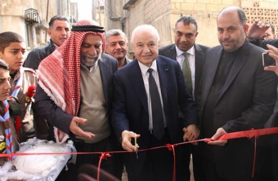 """أبوغزاله يفتتح محطتي معرفة في إربد في """"مركز الحصن الثقافي"""" و""""هداية للتدريب المجتمعي"""""""