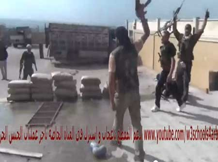 معارك الجيش الحر ( 9 أشرطة فيديو )
