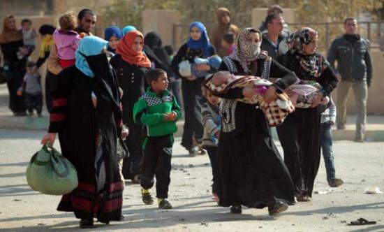 أكثر من 173 ألف نازح بالعراق منذ بدء معركة الموصل