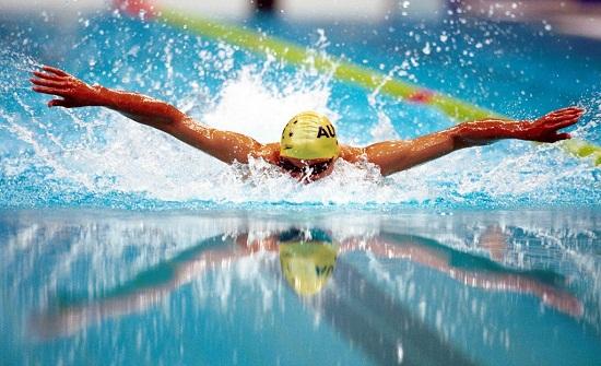 منتخب السباحة يحصد 6 ميداليات جديدة بالبطولة العربية في المغرب