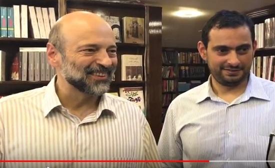 بالفيديو : مقتطفات من زيارة الرزاز لسوق الزرقاء