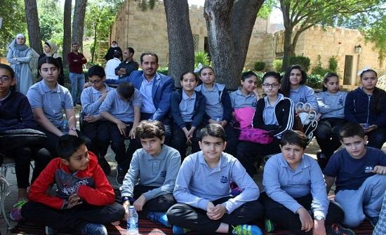 مدارس العروبة تزور متحف وصفي التل