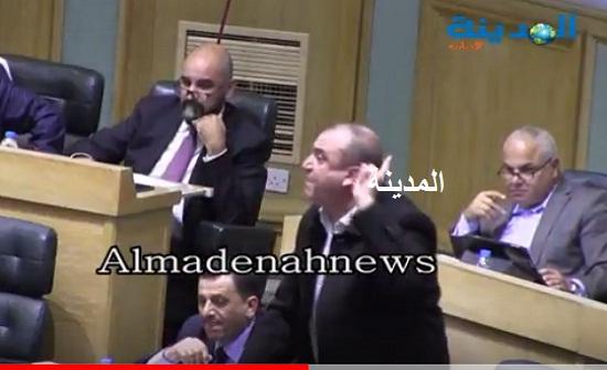 شاهد بالفيديو :  موقف النائب عبيدات من مجازر الغوطة