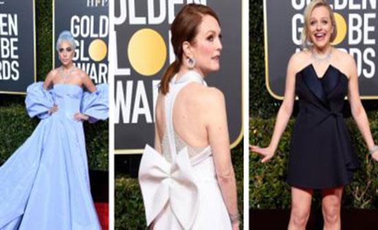 صور.. تعرفى على دور الأزياء الصانعة لأجمل إطلالات النجمات فى Golden Globes 2019..