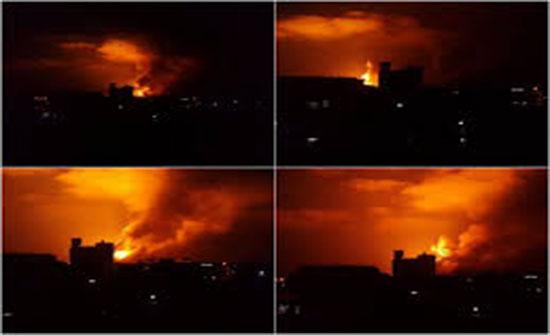شاهد : صواريخ المقاومة تسقط على المستوطنات