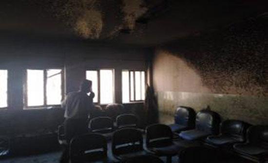 الصحة: السيطرة على حريق بمستشفى النديم