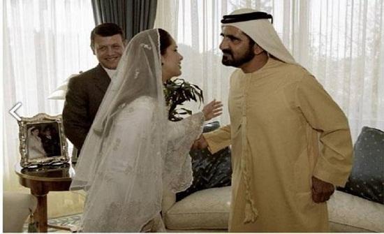 شاهد صور زفاف حاكم دبي من الأميرة هيا
