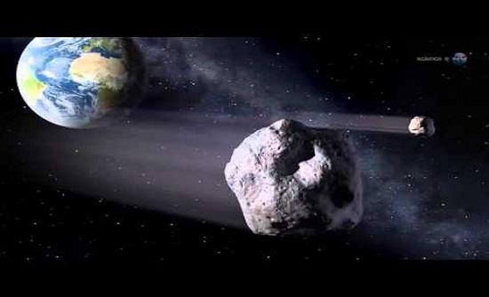 مرور كويكب بحجم 10إلى 12 مترا بالقرب من الأرض