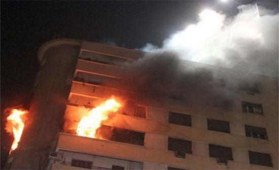 إخماد حريق شقة في ضاحية الرشيد ..ولا إصابات بالارواح
