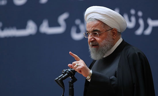 روحاني: ديوننا انخفضت وعقوبات أمريكا لم تنل من عزيمتنا