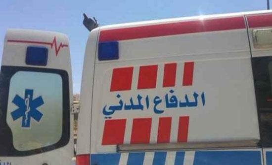 الدفاع المدني :59 إصابة نتيجة 99 حادثا مختلفا