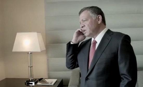 الملك يعزي في اتصال هاتفي خادم الحرمين بوفاة الأمير بندر بن عبدالعزيز