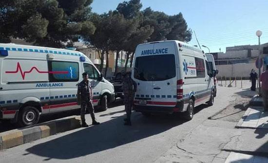 بالصور  : وفاة و16 إصابة  اثر تدهور حافلة تقل عمال آسيويين في مأدبا