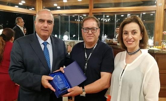 الاردن يفوز بالمركز الاول والجائزة الاولى في السمبويزيوم الدولي في لبنان