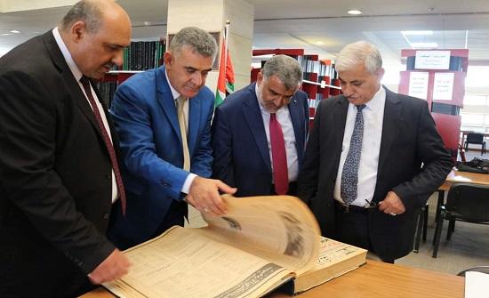 """""""إعلام النواب"""" تطالب بدعم دائرة المكتبة الوطنية"""