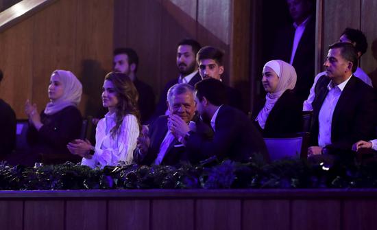 وفد طلابي من جامعة إربد الأهلية يشارك في احتفالية العيد العشرين للجلوس الملكي